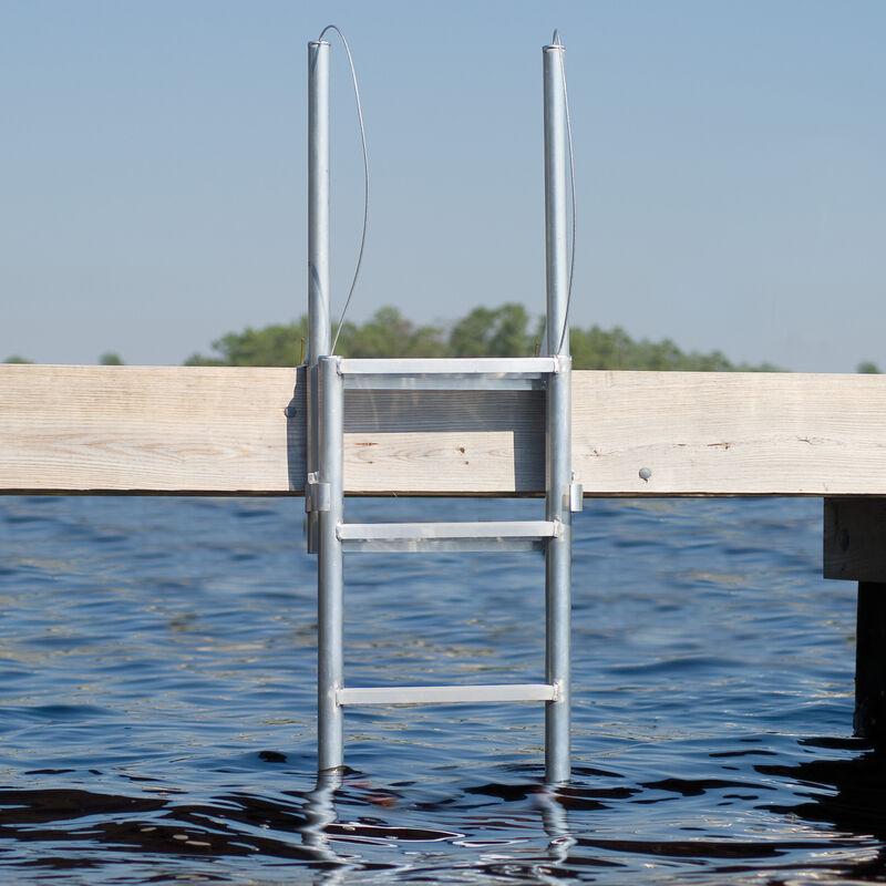 International Dock Finger Pier Lifting Ladder, 4-Step image number 2