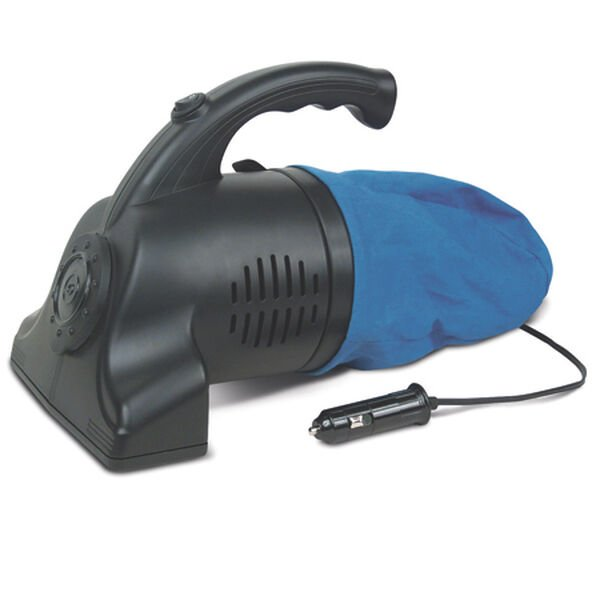12-Volt Vacuum with Rotating Brush