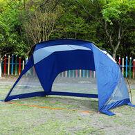 MF Studio 3-4 Person Beach Canopy and Portable Shade, Navy