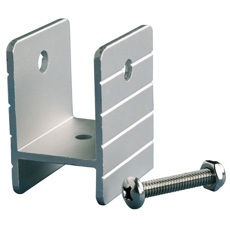 Pontoon Bimini Top Fitting - 1-1/4'' Mounting Frame Bracket with Bolt and Nut image number 1
