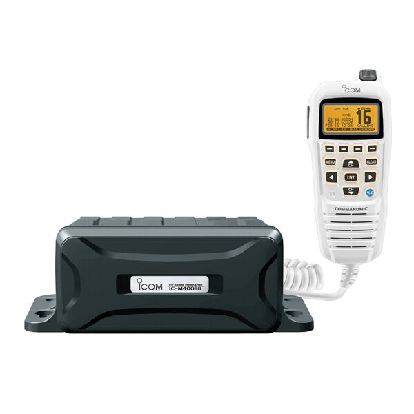 ICOM M400BB Black Box VHF Radio With White Command Mic