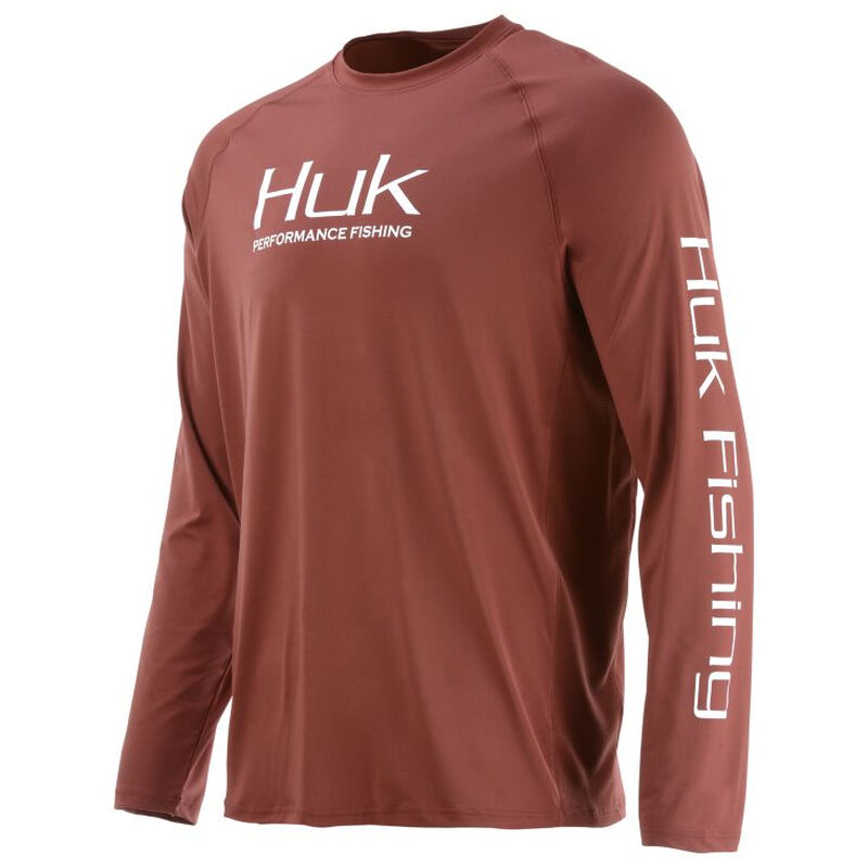 HUK Men's Pursuit Vented Long-Sleeve Tee image number 7