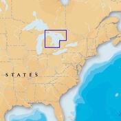 Navionics Platinum+ Map Lake Huron - SD Cartridge