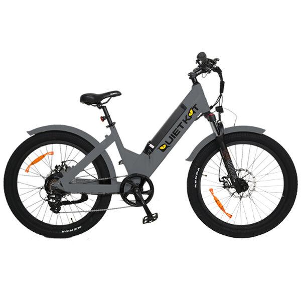 "QuietKat Villager 500-Watt Electric Bike 16"", Charcoal"