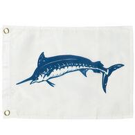 Blue Marlin Boat Flag