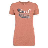 Coastal Women's Surf Short-Sleeve Tee