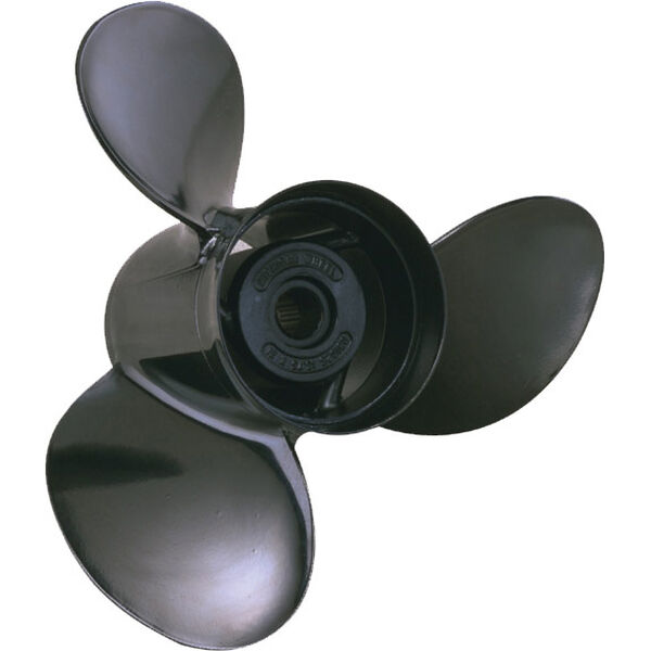 Michigan Wheel 3-Blade Prop, Pressed Rubber Hub / Aluminum, 12.5 dia x 23, RH