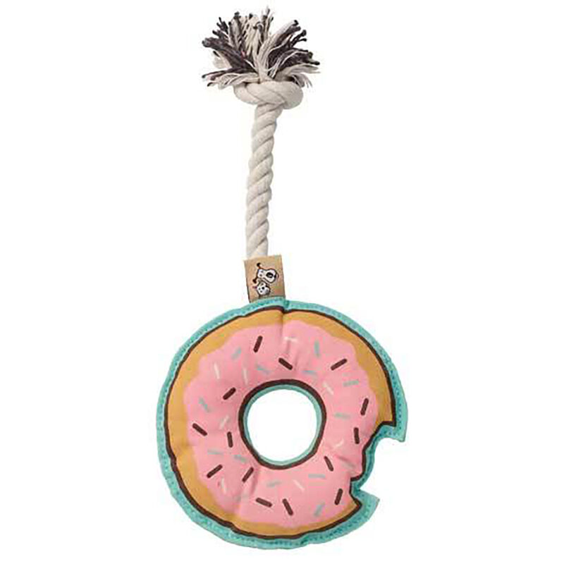 Donut Rope Pet Toy image number 1