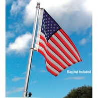 "TaylorMade Deluxe Stainless Steel Flag Pole, 18""H"
