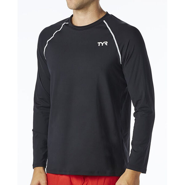 TYR Men's Long-Sleeve Rashguard