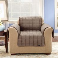 "Deluxe Pet Chair Throw - 26"" Width, Sable"