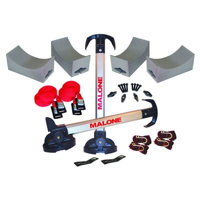 Malone Stax Pro2 Kayak Carrier with Tie-Downs