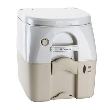 Dometic Portable RV/Marine Toilet, 5-Gallon, Tan