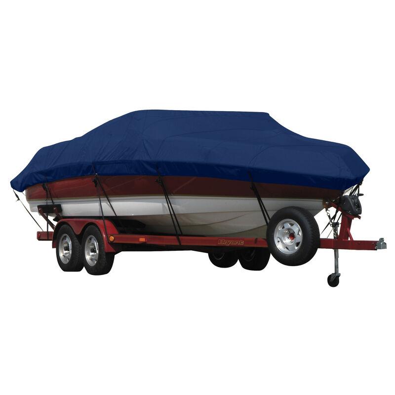 Exact Fit Covermate Sunbrella Boat Cover for Crestliner Fish Hawk 1650 Tiller  Fish Hawk 1650 Tiller W/Port Minnkota Troll Mtr O/B image number 9