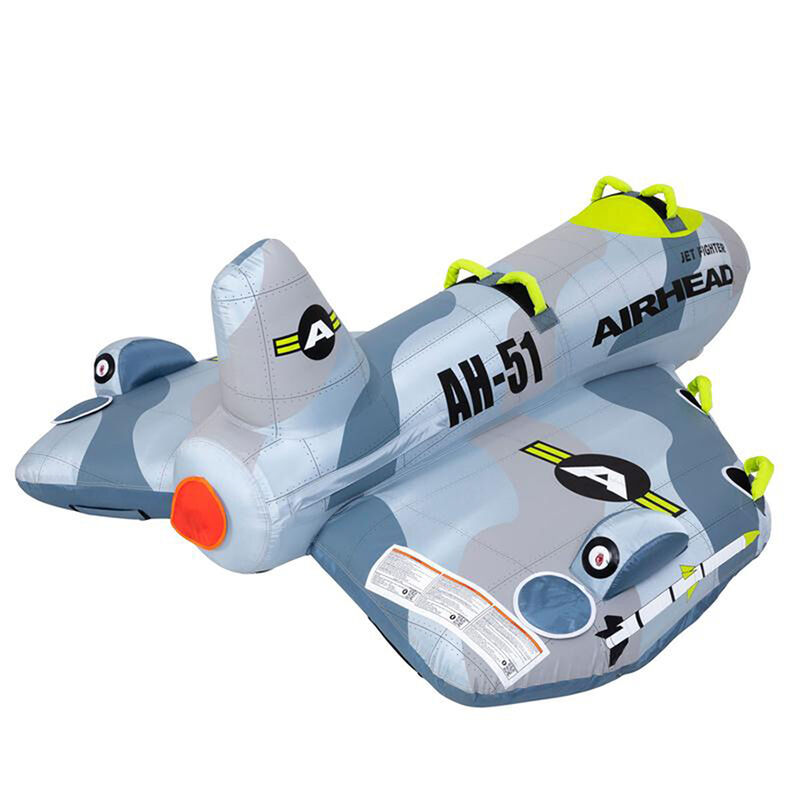 Airhead Jet Fighter 4-Person Towable Tube image number 17