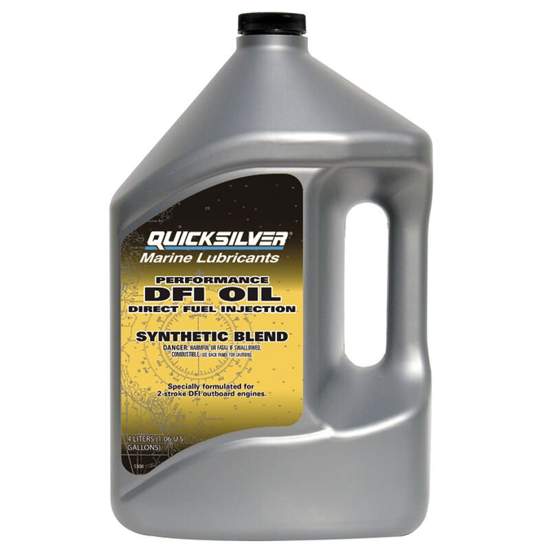Quicksilver Direct Fuel Injection 2-Cycle Oil Gallon image number 1