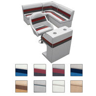 Toonmate Deluxe Pontoon Furniture with Toe Kick Base - Rear Group 2 Package
