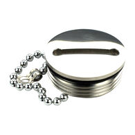 Whitecap Replacement Cap & Chain for Deck Fills