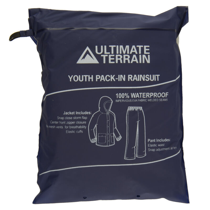Ultimate Terrain Youth Pack-In Rain Suit image number 26