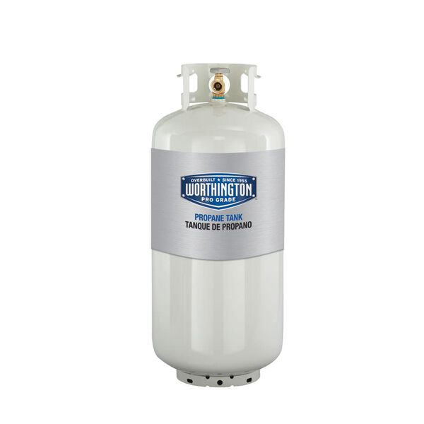 Refillable Steel Propane Cylinders-40 lb. / 9.4 gal.