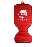 Gail Force Water Sports Travel Inflatable Saddle Float - Red