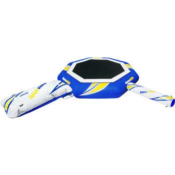 Aquaglide 23' Supertramp Trampoline With Blast And I-Log