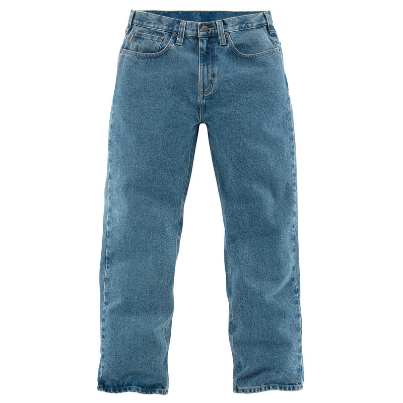 Carhartt Men's Relaxed-Fit Straight-Leg Jean image number 5