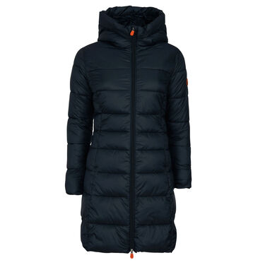 Save The Duck Women's Giga Long Quilted Winter Coat