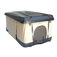 Trustmade Hard Shell Rooftop Tent, Black Shell / Beige Tent