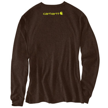 Carhartt Men's Signature Logo Long-Sleeve Tee