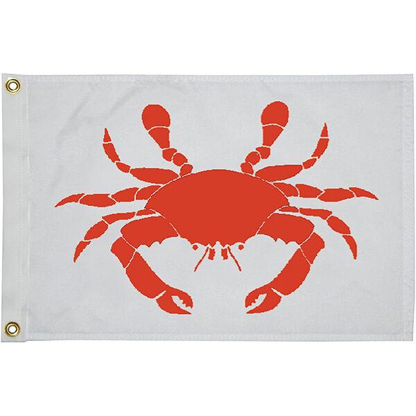 """Crab Flag, 12"""" x 18"""""""