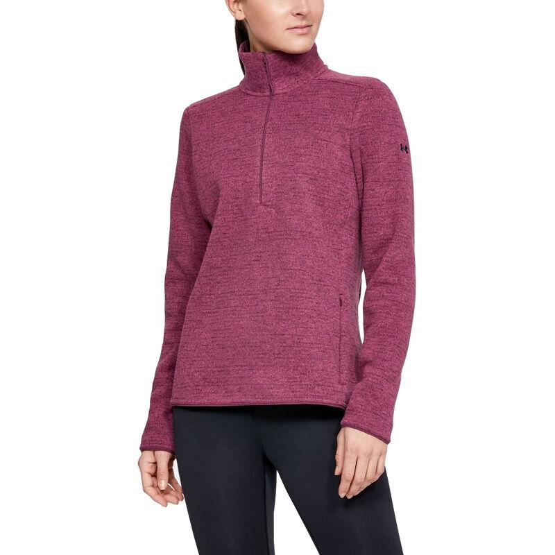 Under Armour Women's Wintersweet 2.0 Half-Zip Pullover image number 1
