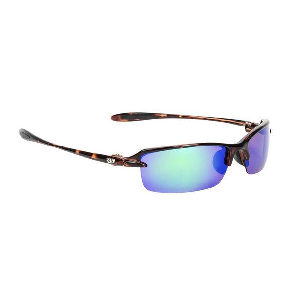 Strike King SK Plus Sabine Sunglasses - Tortoiseshell Frame, Green Mirror Lens