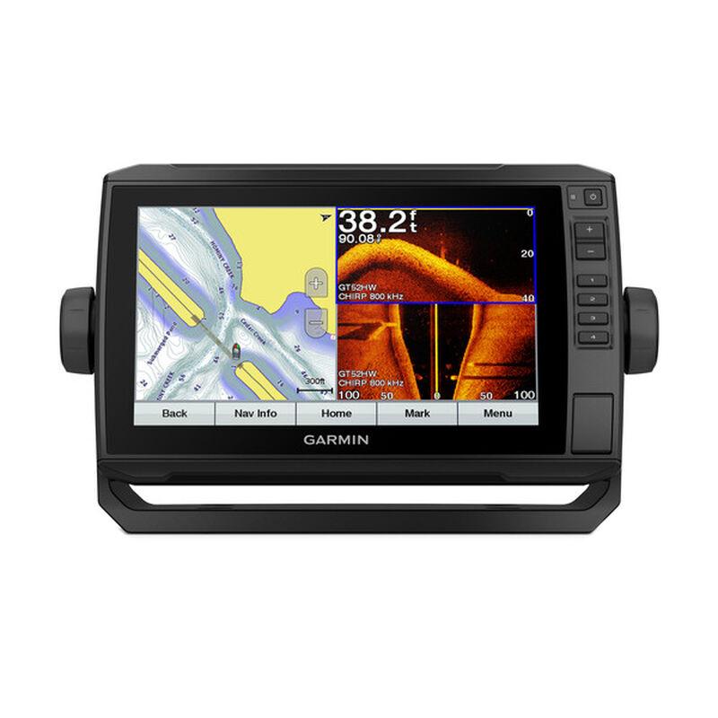 Garmin ECHOMAP Plus 93sv Chartplotter Fishfinder with GT52 Transducer image number 1