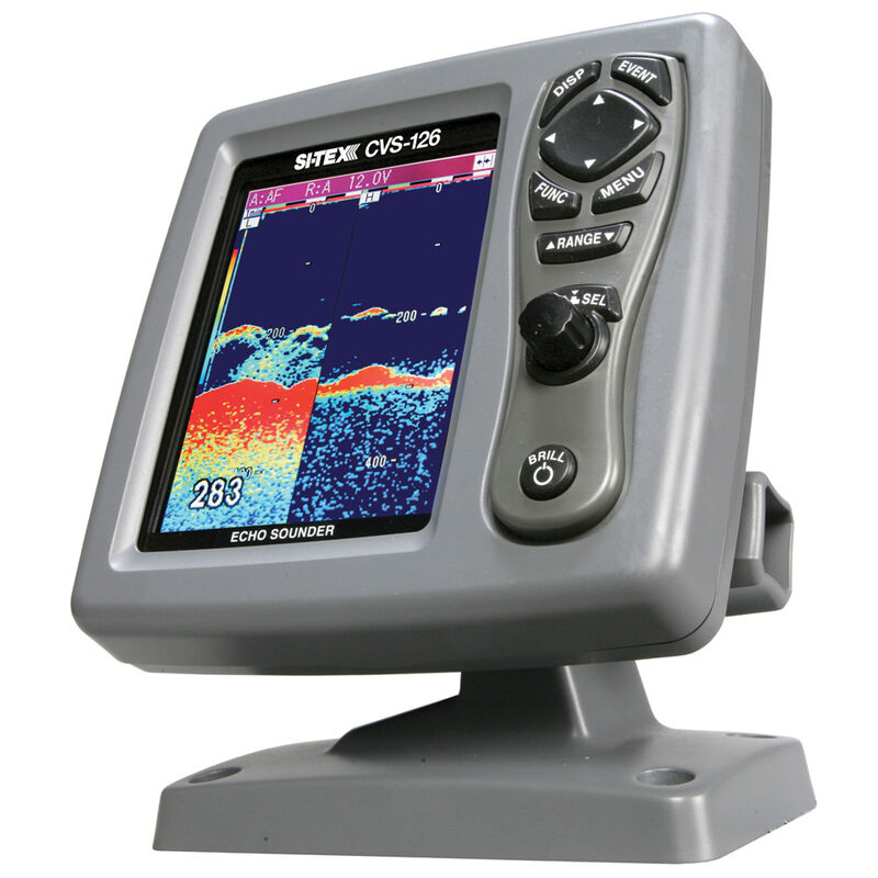 Si-Tex CVS-126 Dual Frequency Echo Sounder image number 1