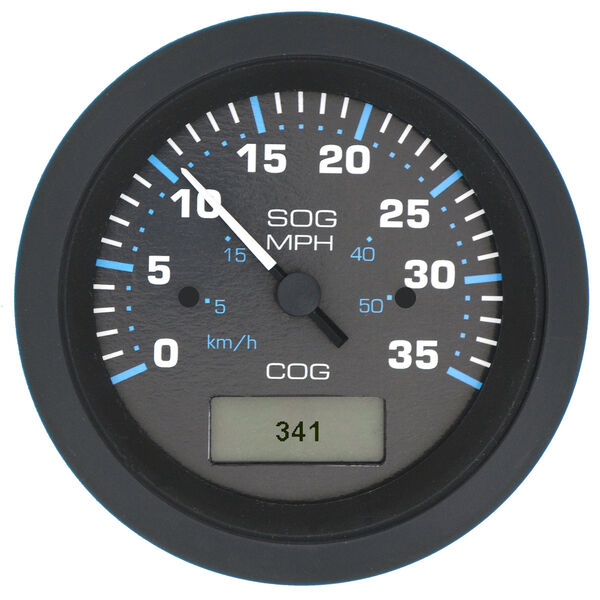 Sierra Eclipse GPS Speedometer With LCD Heading Display, 35 MPH