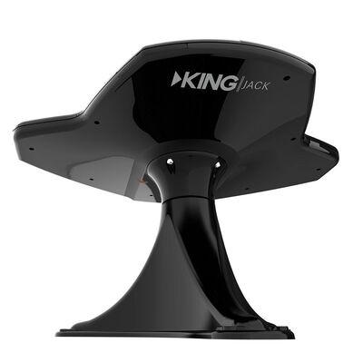 KING Jack HDTV Directional Antenna & Signal Meter, Black