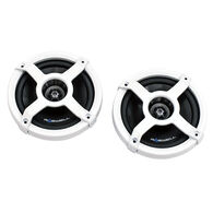"""Roswell Classic In-Boat 6.5"""" Coaxial Speakers, White"""