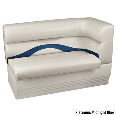 Toonmate Premium Pontoon Left-Side Corner Couch w/Platinum Base