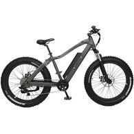 "QuietKat Ranger 750-watt Electric Mountain Bike 17"", Charcoal"