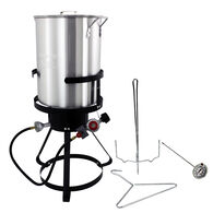 CHARD 30-Qt. Aluminum Turkey Fryer Package with Thermometer