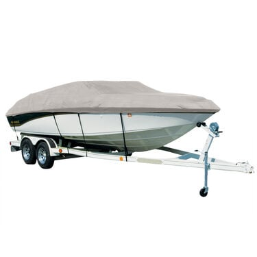 Covermate Sharkskin Plus Exact-Fit Cover for Princecraft Vacanza 210 Vacanza 210 V Sc W/Bimini Top Laid Down I/O