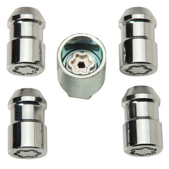 McGard Trailer Wheel Lock Lug Nut, 4 locks for dual axle trailers