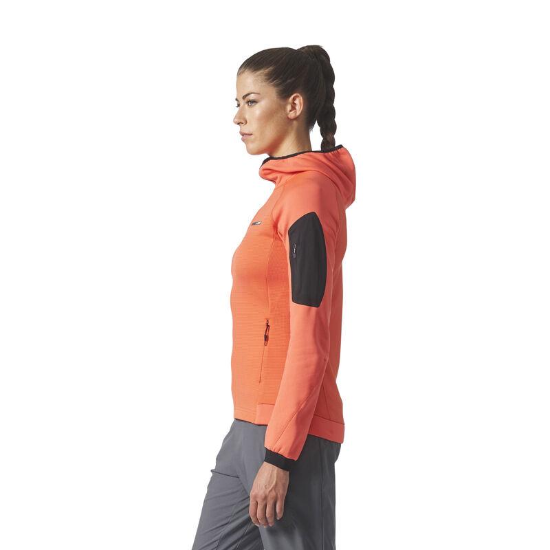 Adidas Women's Terrex Stockhorn Fleece Full-Zip Hoodie image number 4