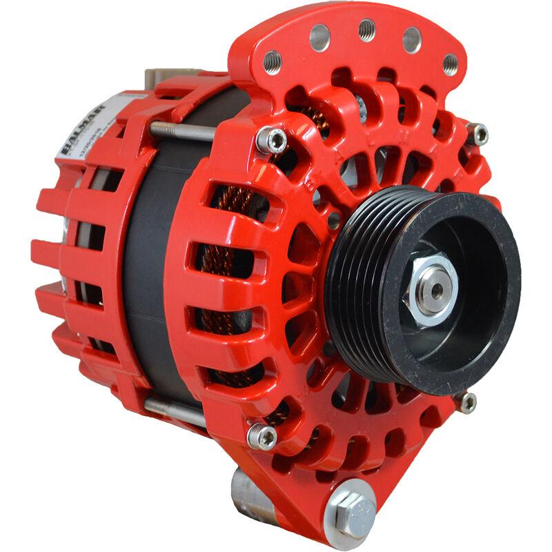 Balmar Alternator 170 Amp, 12V Single Foot Internal Regulator K6 Pulley image number 1
