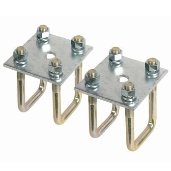 """Smith 1-1/2"""" Square Axle Tie Plate Kit"""