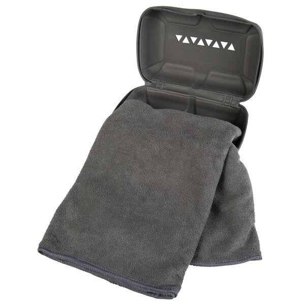 Rock Creek Gray Microfiber Pro Camp Towel, Medium