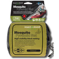 Sea to Summit Pyramid Net Shelter with Insect Shield Repellent Single