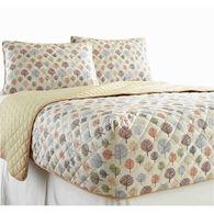 Micro Flannel® RV Bedspread, Short Queen - Tree