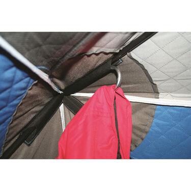 Clam Hub Shelter Coat Hooks, 4-Pack
